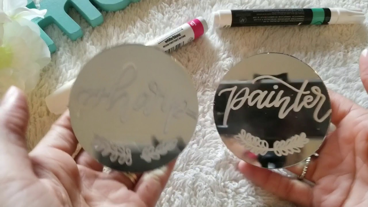 Mirror Calligraphy I What Marker You