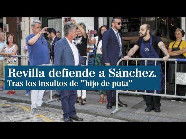 Miguel Ángel Revilla abronca a un empleado de un bar que llamó