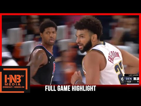 Nuggets vs Clippers 9.5.20 | Game 2 | Full Highlights
