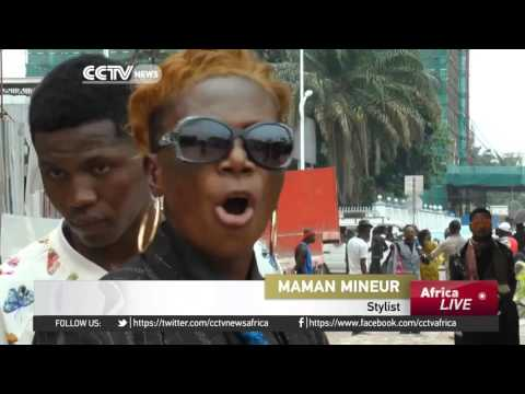 Fashion enthusiasts celebrate in the capital, Kinshasa