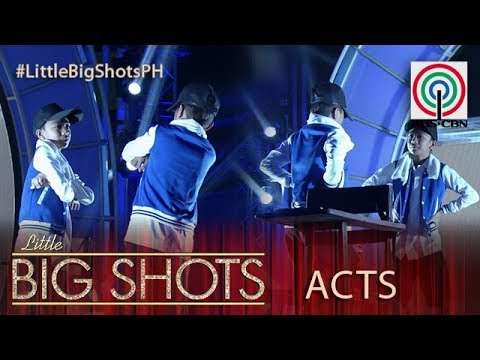 Little Big Shots Philippines: Mirror Dance Duo