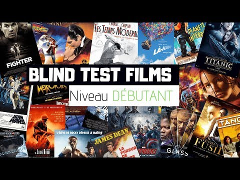 BLIND TEST FILMS - DEBUTANT (40 EXTRAITS)