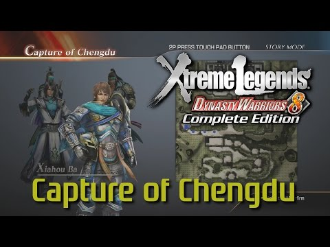 Dynasty Warriors 8 Xtreme Legends | Capture of Chengdu (Jin Hypothetical Route Ep.2)