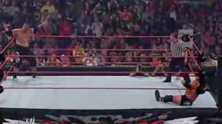 no mercy 2007 triple h vs umaga parte 2.mp4
