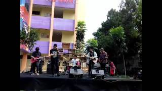 Festival band cover KQ-5 band(sahara rock band membunuhmu)