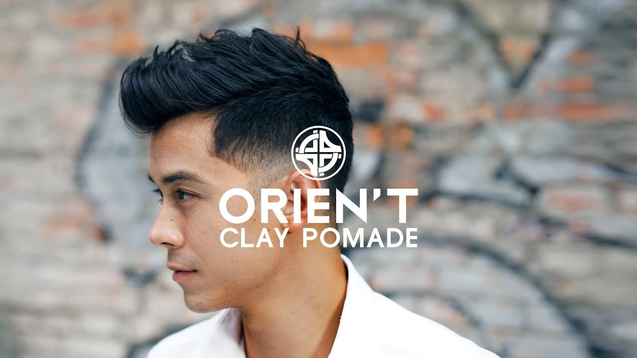 Orien T Clay Pomade Short Textured Hair Style For Men Youtube