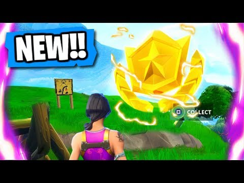 "*NEW* Fortnite ""TREASURE LOCATION"" Week 4 Battle Pass Challenge COMPLETED! (Fortnite Battle Royale)"