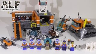 Lego City 60036 Arctic Base Camp / Arktis Basislager - Lego Speed Build Review