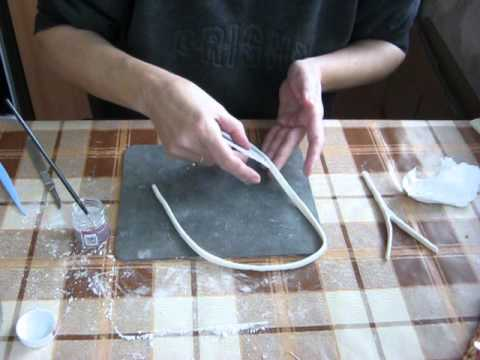 How To Make A Tennis Racket For The Decoration Of Cake Part 8 Youtube