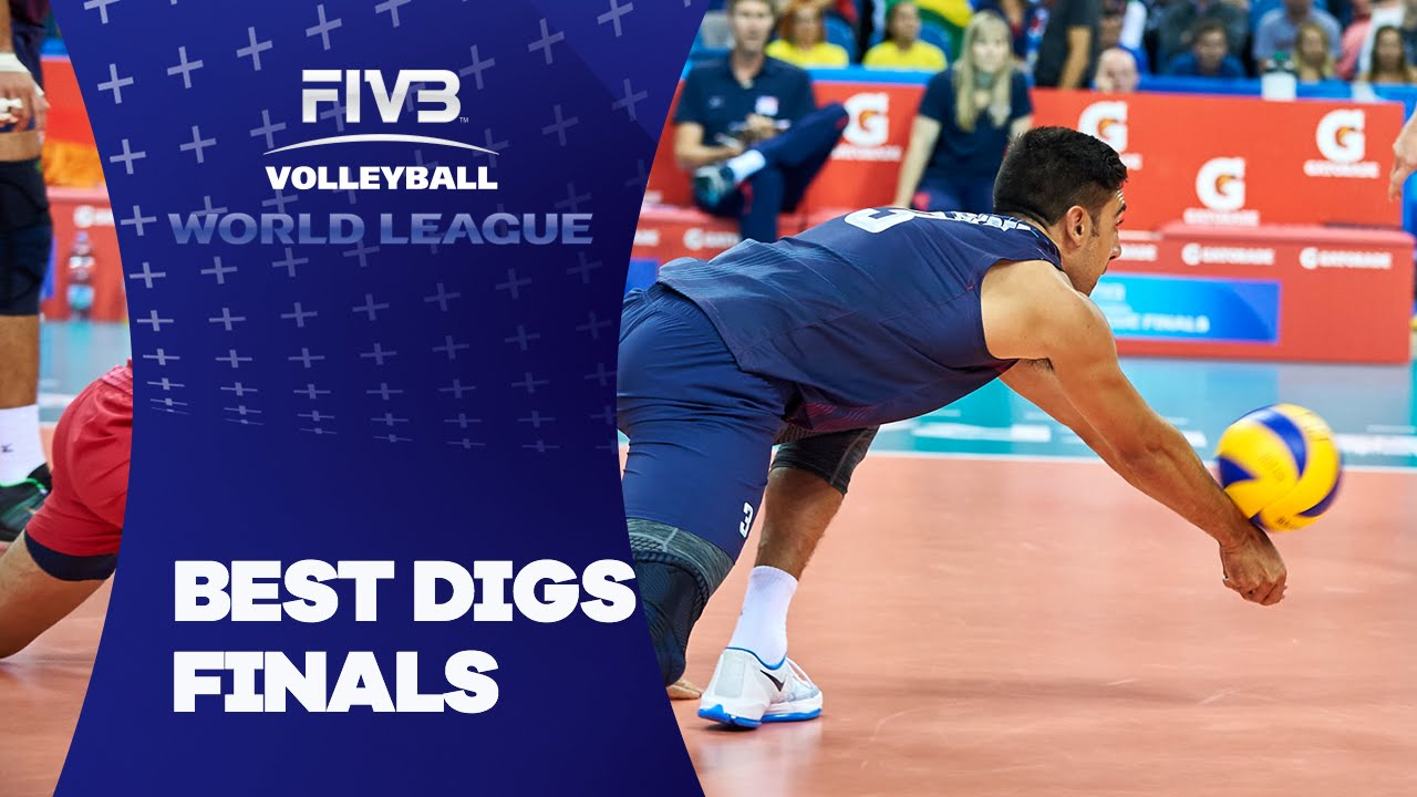 FIVB - World League Finals: Best Digs