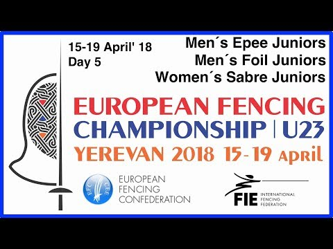 Day 05 2018 European fencing championships U23 - Blue