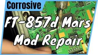 Yeasu FT-857d Mars Mod Repair  | Part 1