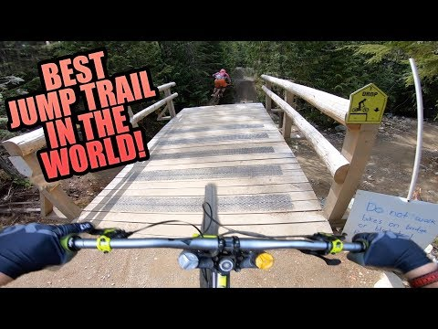 DIRT MERCHANT - WHISTLER BIKE PARK - BEST JUMP TRAIL EVER?