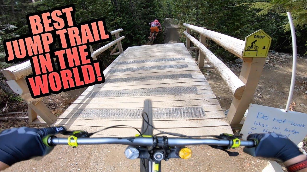 Download DIRT MERCHANT - WHISTLER BIKE PARK - BEST JUMP TRAIL EVER?