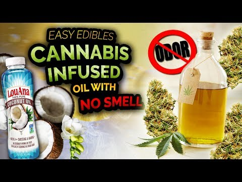 Cannabis Infused Oil with No Smell