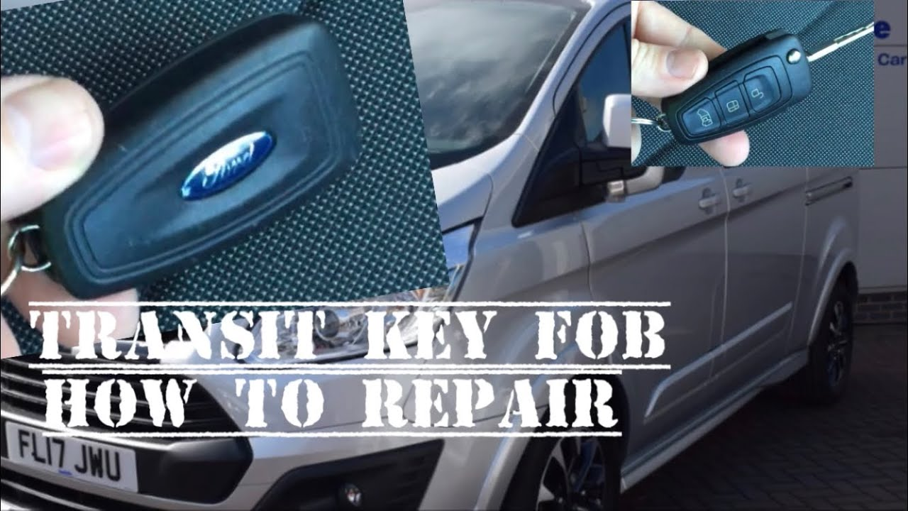 Ford Transit 2016 Changing Charging The Remote Key Battery Can