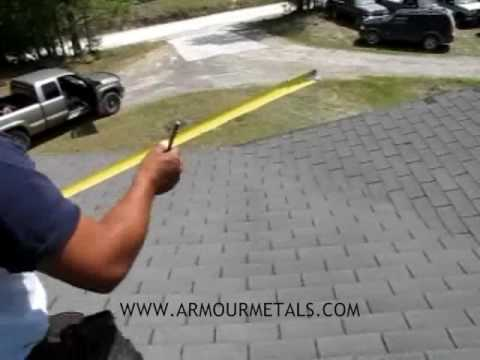 How To Measure And Install Multi Rib Metal Roofing Part