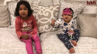Ishfi's Playtime with beautiful sisters