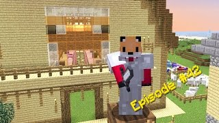 Minecraft Survival - How to Make Stained Glass [42]