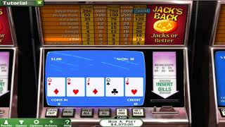Video Poker Session - Outdated Tech