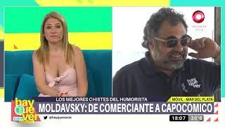 El humorista del momento: Roberto Moldavsky