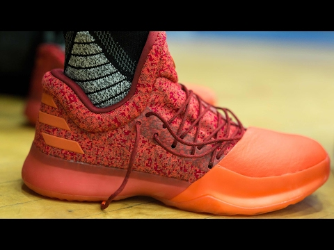 ADIDAS Harden Vol. 1 Basketball Shoe Wear Test w/ Nightwing2303