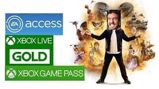 Como Compartilhar Jogos, Live Gold, EA Access e Xbox Game Pass com um Amigo no Xbox One