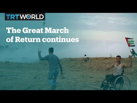 Another Friday, another week of protests in Gaza
