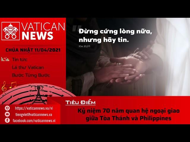 Radio Chúa Nhật 11/04/2021 - Vatican News Tiếng Việt