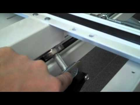 QBOT Installation on Phoenix Quilt Frame - YouTube