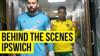Behind The Scenes: Norwich City v Ipswich Town