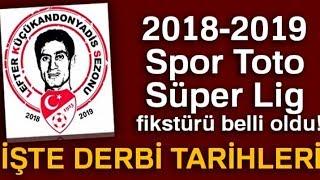 Süper Lig'de Fikstür Çekildi: İşte Derbiler