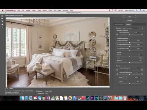 Fixing Barrel Distortion & Verticals - Architectural/Interiors Photography Post-Processing Tutorial