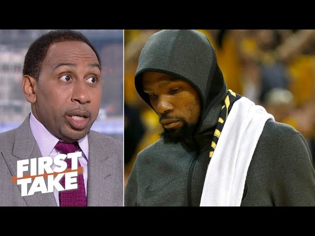 'KD hasn't been KD!' – Stephen A. wants Kevin Durant to step up for DeMarcus Cousins | First Take