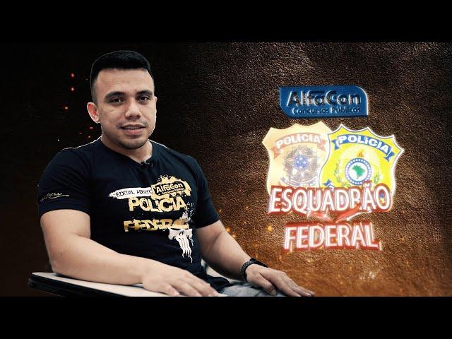 Série Esquadrão Federal - Renan dos Santos - AlfaCon