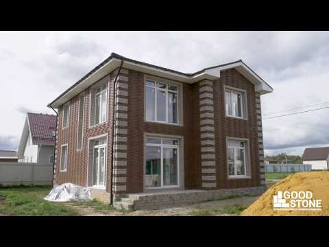 GOOD STONE - Успешно реализованный проект (на основе проекта ГБ-193) двухэтажного дома из газобетона