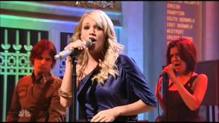 Carrie Underwood Before He Cheats Live March 24, 2007 SNL Saturday Night Live