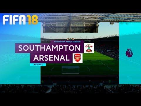 FIFA 18 - Southampton vs. Arsenal @ St. Mary's Stadium