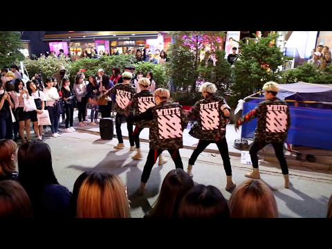 JHKTV] 홍대댄스hong dae street dance X-TIME very good