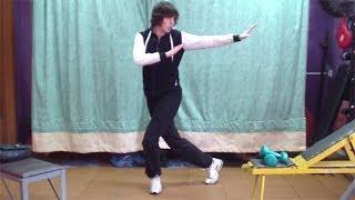 Кунг-фу: урок 10 (удар рукой с разворота)