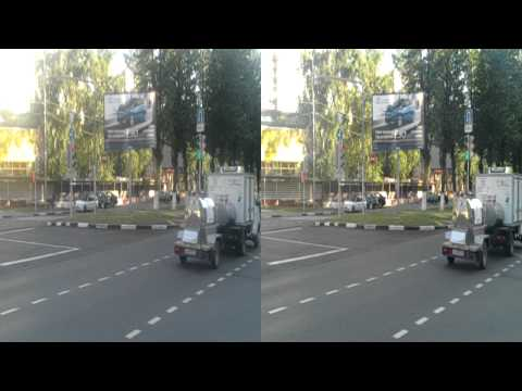 LG Optimus 3D Max P725 test video 3d