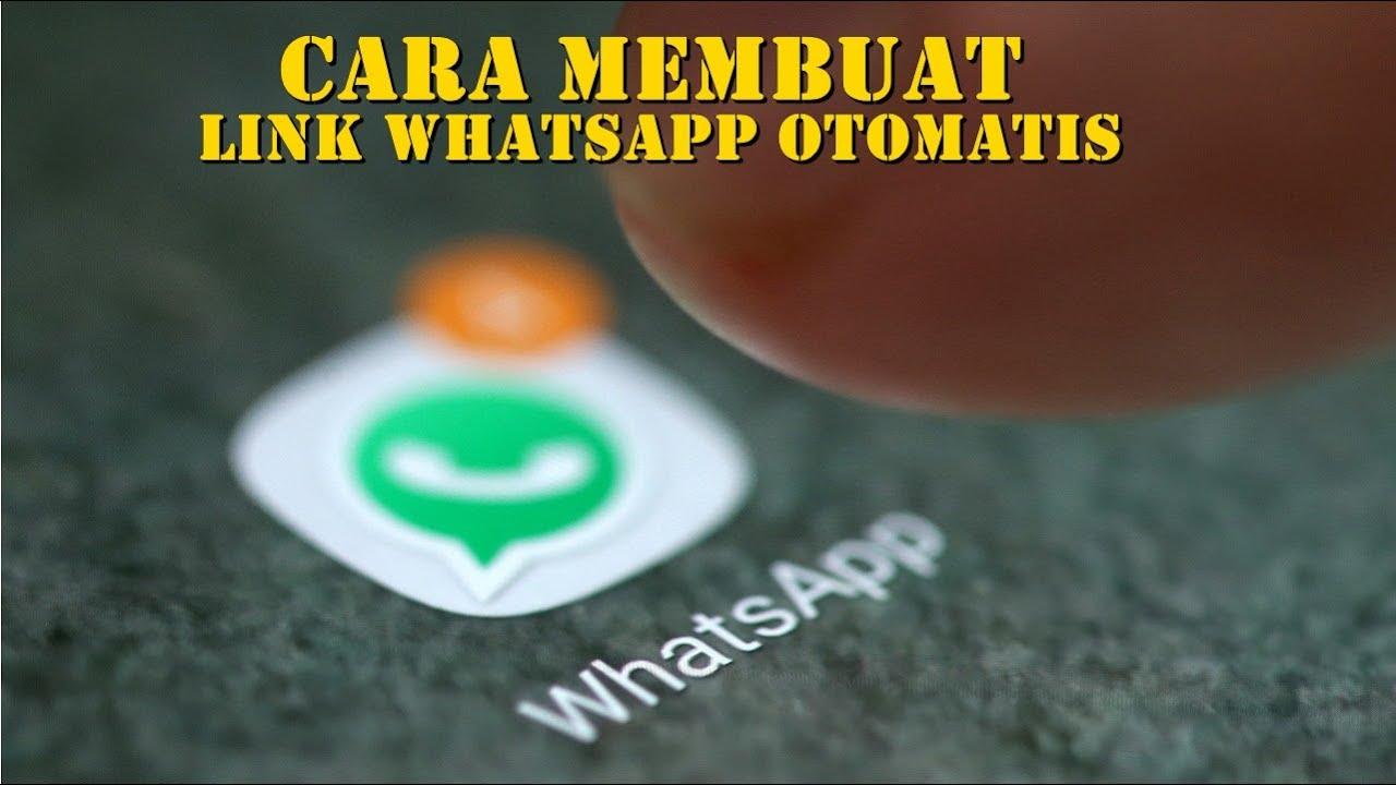 cara membuat link whatsapp menuju chat