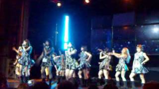 AKB48 singing Oogoe Diamond in English live at AKB 48 NY Webster Hall Concert USA 2009