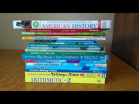 2nd Grade Homeschool Curriculum Choices For 2017 2018 Youtube