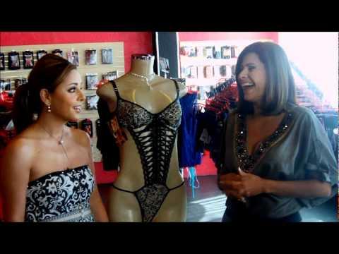 Carmen Jara ensena todo, en el programa Nitido de Telemundo.....wmv