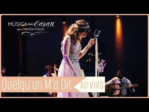 Queuun ma dit Carla Bruni  Música para Casar por Lorenza Pozza AO VIVO