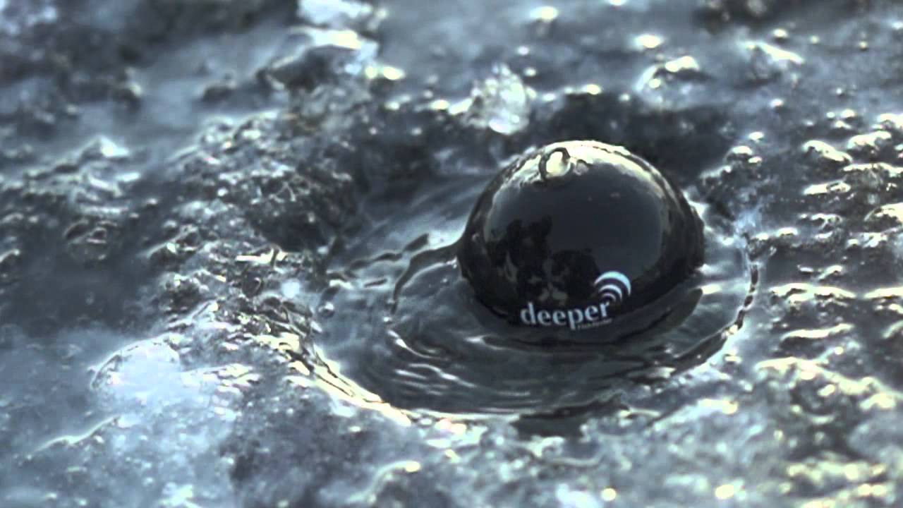 deeper: fishing with deeper fishfinder (ice fishing) - youtube, Fish Finder