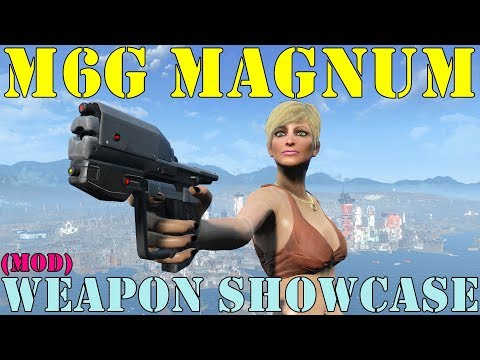 Fallout 4: Weapon Showcases: M6G Magnum (Mod)