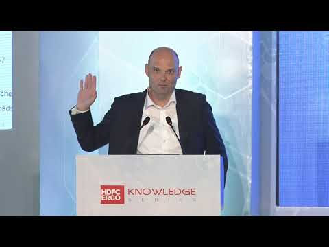 Mr. Andreas Schmitt, Head of Cyber AP, Munich Re speaks at the HDFC ERGO Knowledge Series Event