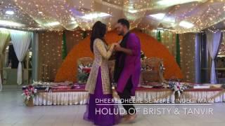 Dheere dheere se romantic holud dance
